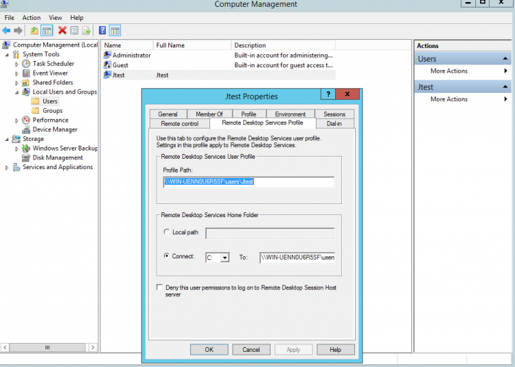 File Integrity Monitoring: Create a test user on your windows agent. Screenshot.