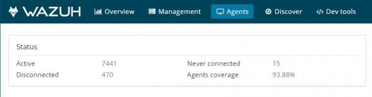 Remove non-active agents