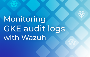 Monitoring GKE audit logs